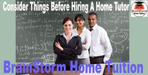 Home Tutor Hiring