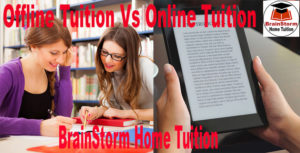 Offline and Online Tuition Differences
