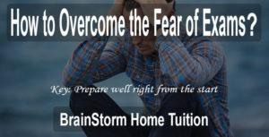 Overcome Fear of Exam