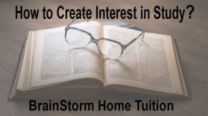 how to create interest in study