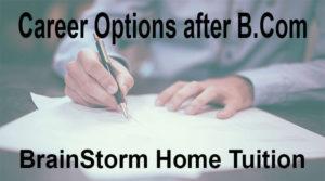 career options after b.com.